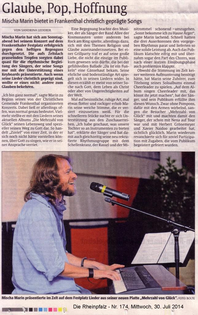 Presse_Juli Frabkenthal 2014